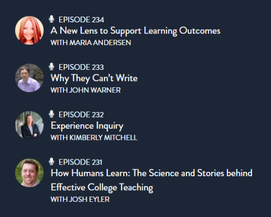 podcasts_Teaching_in_Higher_Ed